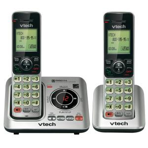 VTech 2-Handset Cordless Phone System with Caller ID and Call Waiting by VTech