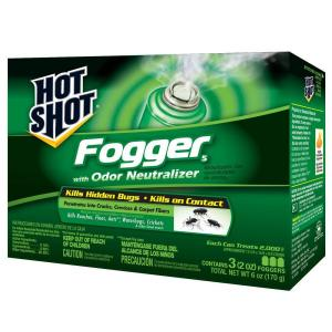 Hot Shot 2 oz. Indoor Fogger (3-Pack)