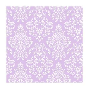 York Wallcoverings 56 sq. ft. Delicate Document Damask Wallpaper