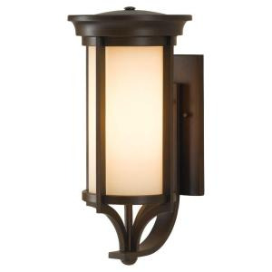 Feiss Merrill 2-Light Heritage Bronze Outdoor Wall Fixture by Feiss