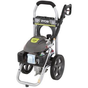 Ryobi 2800-PSI 2.3-GPM Honda Power Control Gas Pressure Washer ...