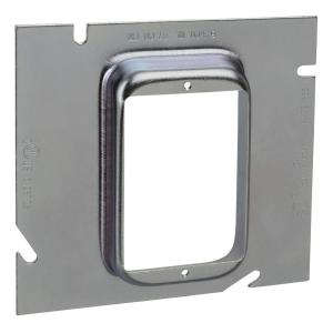 1-Gang Steel Box Extension Ring 3/4 inch Raise (20 per Case)