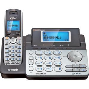 VTech DECT 6.0 Cordless 2-Line Phone with Caller ID by VTech