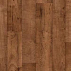 Armstrong 12 ft. Wide Caspian II PLUS Resona Walnut Residential Sheet Vinyl