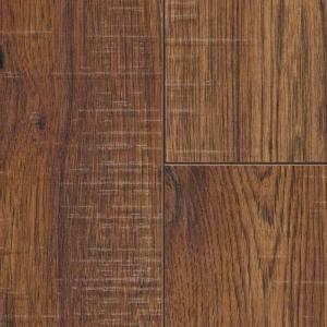 Home Decorators Collection Distressed Brown Hickory 12 Mm Thick X 6 1/4 In.  Wide X 50 25/32 In. Length Laminate Flooring (15.45 Sq. Ft.