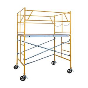 Fortress 6 ft. x 7 ft. x 5 ft. Rolling Scaffold Tower 2000 lb. Load Capacity