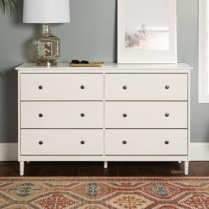 White - Dressers - Bedroom Furniture - The Home Depot