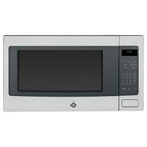 GE Profile 2.2 cu. ft. Countertop Microwave in Stainless Steel with Sensor... by GE Profile