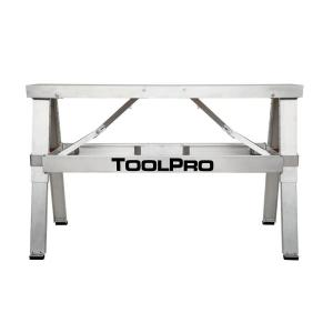 ToolPro 18 inch to 30 inch Adjustable Height Aluminum Collapsible Step-Up Bench by ToolPro