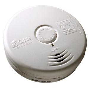 Kidde 10-Year Sealed Lithium Battery Operated Smoke Alarm