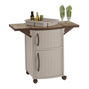 Bar Cart with Wheels