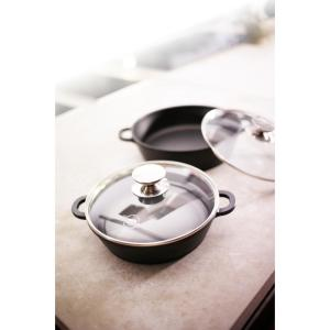 Berndes Vario Click 13 in./5.25 Qt. Induction Round Saute Casserole with Lid Black by