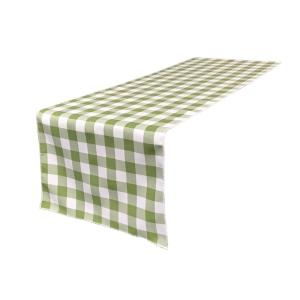 Checkered table runners
