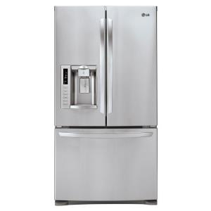 LG Electronics 27.6 cu. ft. French Door Refrigertor in Stainless Steel
