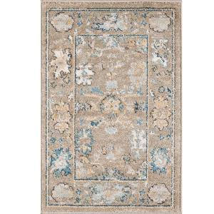Tayse Rugs Peyton Gray Taupe 2 ft. x 3 ft. Accent Rug by
