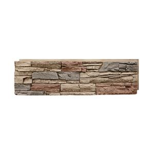 Panels in Faux Stone Siding