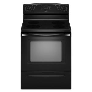 Amana 4.8 cu. ft. Electric Range in Black