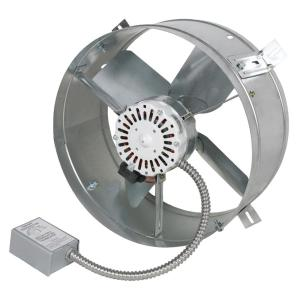 Adjustable Thermostat Attic Fans Roofing Attic Ventilation The Home Depot