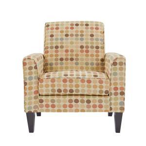 Super Multi Colored Accent Chairs Chairs The Home Depot Inzonedesignstudio Interior Chair Design Inzonedesignstudiocom
