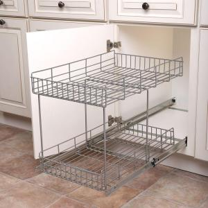 pull out trays for kitchen cabinets real solutions for real 17 in h x 15 in w x 22 in 24996