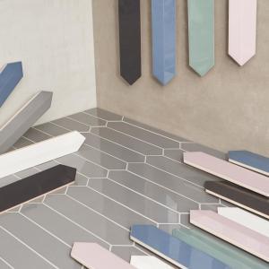 Kitchen Blue Ceramic Tile Tile The Home Depot