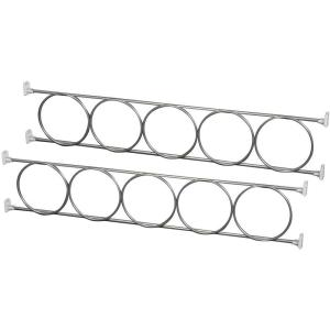Knape & Vogt 4.25 inch x 23.63 inch x 0.25 inch Wine Rack by