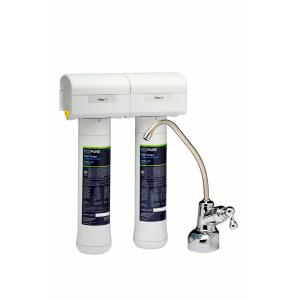 EcoPure No Mess Dual Stage Drinking Water Filter System by