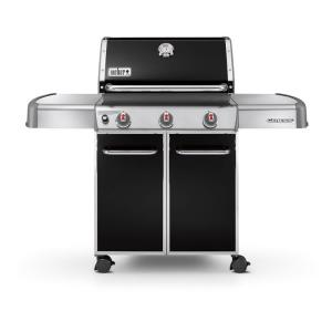 Weber Genesis E-310 3-Burner Natural Gas Grill in Black