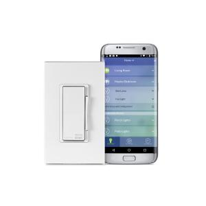 Leviton Decora Smart Wi-Fi 600W Universal LED/Incandescent Dimmer, No Hub Required, Works... by