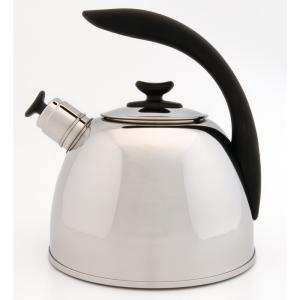BergHOFF Lucia 11-Cup Stainless Steel Whistling Kettle by
