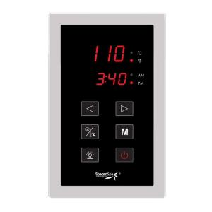 SteamSpa Steam Bath Generator Touch Screen Control Panel by