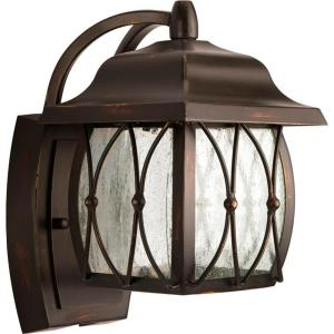 Progress Lighting Montreux Collection Antique Bronze 1-light LED Wall Lantern