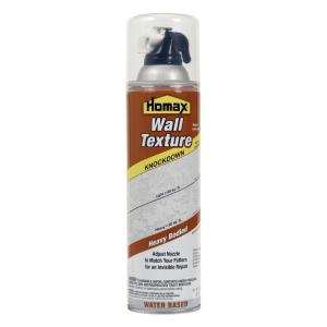 Homax 20 oz. Wall Knockdown Water Based Spray Texture by Homax
