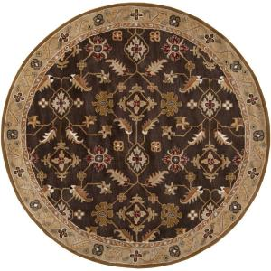 Artistic Weavers Epictus Chocolate 4 ft. x 4 ft. Round Indoor Area Rug by