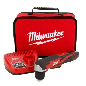 Milwaukee M12 12-Volt Lithium-Ion 3/8 in. Cordless Right Angle Drill