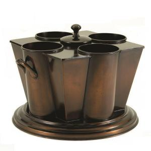 Bronze wine chillers & buckets