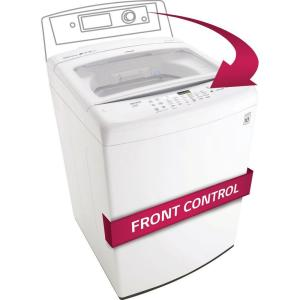 LG Electronics 4.5 cu. ft. High-Efficiency Top Load Washer in White, ENERGY STAR by LG Electronics