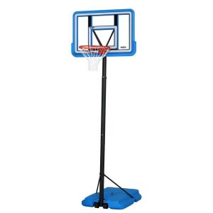 Lifetime 44 inch Portable Pro Court Blue Basketball System by Lifetime