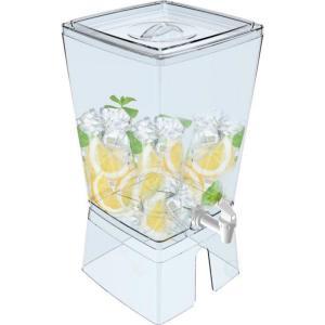 Plastic beverage dispensers