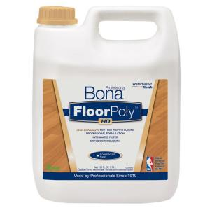 Bona 1-Gal. Satin Water-Based FloorPoly HD