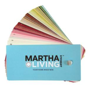 Martha Stewart Living 280 Color Paint Fan Deck