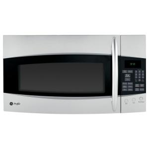 GE Profile Spacemaker 1.9 cu. ft. Over the Range Microwave with Recirculating Vent in Stainless Steel
