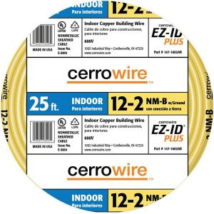Cerrowire 25 ft. 12/2 NM-B Wire