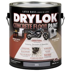 Ugl 1 Gal Gull Latex Concrete Floor Paint 209154 The