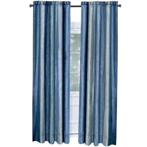 Click here to buy Achim Blue Ombre Curtain Panel - 50 inch W x 84 inch L.