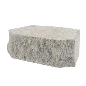 11.5 in. x 7 in. x 4 in. Pewter Concrete Retaining Wall Block