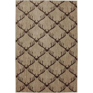 American Rug Craftsmen Laredo Light Camel 3 ft. 6 inch x 5 ft. 6 inch Accent Rug by