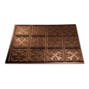 Fasade 18 in. x 24 in. Traditional 10 Oil Rubbed Bronze Decorative Wall Tile