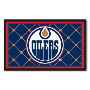 FANMATS Edmonton Oilers 4 ft. x 6 ft. Area Rug by FANMATS