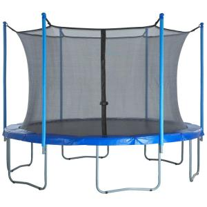 Upper Bounce Trampoline Enclosure Safety Net for 12 Ft. Round Frame Trampolines
